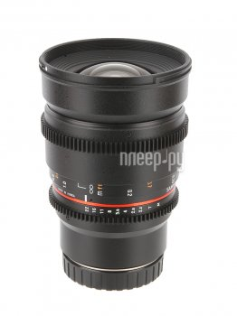 Объектив Samyang Canon M MF 16 mm T2.2 AS ED UMC CS II VDSLR II