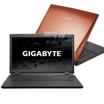 Ноутбук Gigabyte P27K 9WP27K002-RU-A-001 (Intel Core i7-4700HQ 2.4 GHz/8192Mb/1000Gb/DVD-RW/nVidia GeForce GTX 765M 2048Mb/Wi-Fi/Cam/17.3/1920x1080/Wi