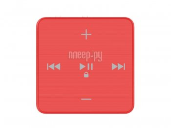 Плеер MP3 teXet T-22 - 4Gb Red
