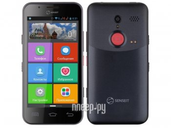 Смартфон SENSEIT L301 Black