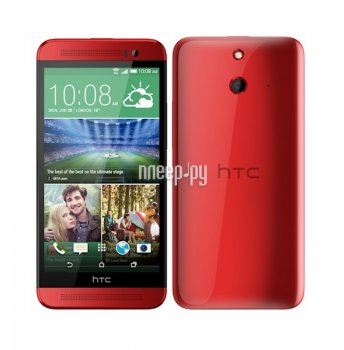 Смартфон HTC One E8 Dual Sim Red