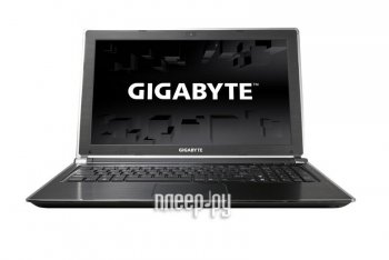 Ноутбук Gigabyte P25W 9WP25WV23-RU-A-001 (Intel Core i7-4710MQ 2.5 GHz/8192Mb/1000Gb + 128Gb SSD/DVD-RW/nVidia GeForce GTX 870M 3072Mb/Wi-Fi/Bluetooth