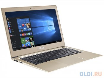 "Ноутбук Asus UX303Ua i7-6500U (2.5)/12G/256G SSD/13.3""FHD AG/Int:Intel HD 520/WiDi/BT/Win10 Icicle Gold + Чехол"