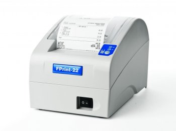 FPrint-22 RS/USB ПТК без ЭКЛЗ, ширина ленты 80/57мм, в комплекте с кабелем RS232, серый