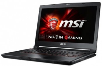 Ноутбук MSI GS40 6QE-060RU 9S7-14A112-060 (Intel Core i7-6700HQ 2.6 GHz/8192Mb/1000Gb/No ODD/nVidia GeForce GTX 970M 3072Mb/Wi-Fi/Bluetooth/Cam/14.0/1