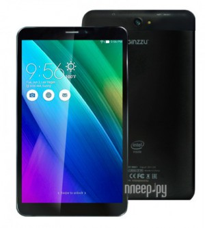 Планшетный компьютер Ginzzu GT-W831 Black (Intel Atom x3-C3230RK 1.0 GHz/1024Mb/8Gb/Wi-Fi/3G/Bluetooth/Cam/8.0/1280x800/Android)