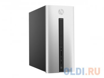 Системный блок HP Pavilion HP 550-254ur <V2F96EA> i5-6400/8Gb/2TB/NV GT 730 4GB/DVD-RWi/Wired KB&MS/Win10/Silver