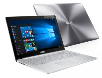 Ноутбук Asus Zenbook Pro UX501VW-FY110R 90NB0AU2-M01550 (Intel Core i7-6700HQ 2.6 GHz/12288Mb/1000Gb + 128Gb SSD/nVidia GeForce GTX 960M 2048Mb/Wi-Fi/