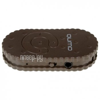 Плеер MP3 Qumo Biscuit Chocolate