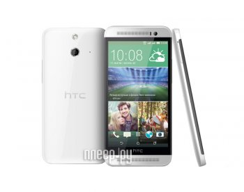 Смартфон HTC One E8 Dual Sim White
