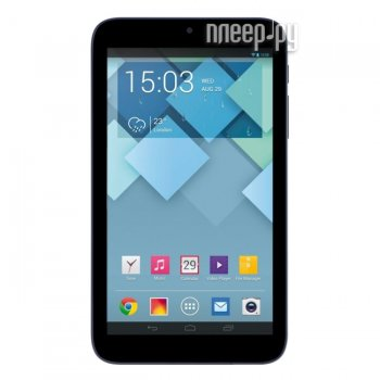 Планшетный компьютер Alcatel OneTouch I216X PIXI 7 Black (A7 1.2Ghz/512Mb/4Gb/Wi-Fi/Bluetooth/Cam/7.0/960x540/Android)
