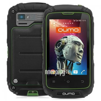Смартфон Qumo Quest Defender Green