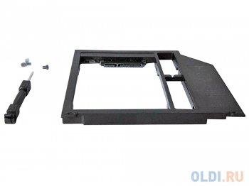 "Адаптер HDD/SSD (optibay) Espada SА95 (optibay, hdd caddy) SATA/miniSATA (SlimSATA) 9,5мм для подключения HDD/SSD 2,5"" к ноутбуку Apple вместо DVD"