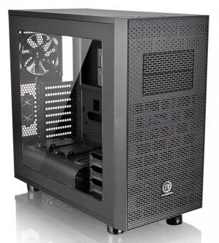 Корпус Thermaltake Core X31 черный w/o PSU mATX 2x120mm 2xUSB2.0 2xUSB3.0 audio bott PSU