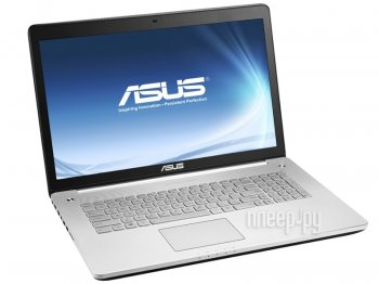 Ноутбук Asus N750JK-T4166H 90NB04N1-M02150 (Intel Core i7-4710HQ 2.5 GHz/12288Mb/2000Gb/BD-ROM/nVidia GeForce GTX 850M 4096Mb/Wi-Fi/Bluetooth/Cam/17.3
