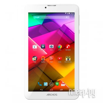 Планшетный компьютер Archos 70 Copper 502726 (Mediatek MTK8312 1.2 GHz/512Mb/4Gb/3G/GPS/Wi-Fi/Bluetooth/Cam/7.0/1024x600/Android)