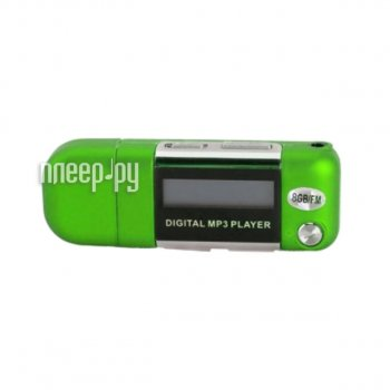 Плеер MP3 Perfeo Music Strong VI-M010-8GB Green
