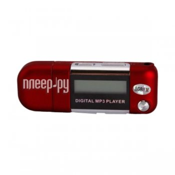 Плеер MP3 Perfeo Music Strong VI-M010-8GB Red