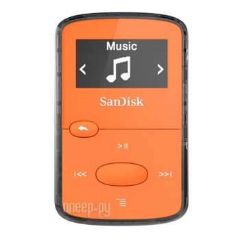 Плеер MP3 SanDisk Sansa Clip Jam - 8Gb Orange SDMX26-008G-G46O