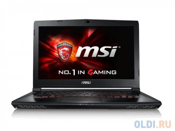 "Ноутбук MSI GS40 6QE(Phantom)-019RU i7-6700HQ(2.6) Skylake/16G/1Tb+128Gb SSD/14"" FHD/NV GTX970M 3GB DDR5/Backlight/4Cell/Win10/Black"