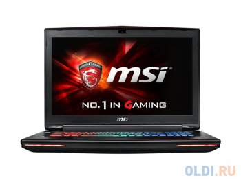 "Ноутбук MSI GT72S 6QF(DominatorProGDragon)-020RU i7-6820HK(2.7)/32G/1T+512G SSD/17.3"" FHD AG/GTX980 8G DDR5/BD Writer/Backlight/G-SYNC/9Cell/Win10/Red"
