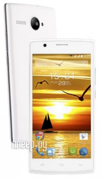 Смартфон Fly FS501 Nimbus 3 White