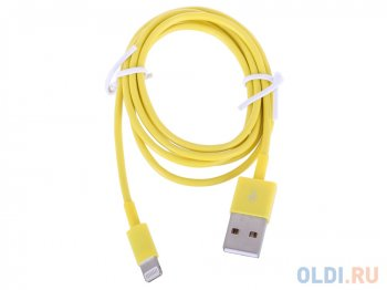 "Кабель USB ""LP"" для Apple iPhone/iPad 8 pin (желтый/европакет) 0L-00002537"