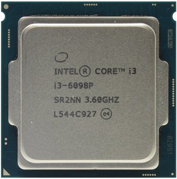 Процессор Intel Original Core i3 6098P Soc-1151 (BX80662I36098P S R2NN) (3.6GHz/Intel HD Graphics) Box