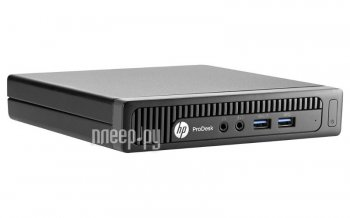 Неттоп HP 400 G1 Desktop Mini HPP-M3X28EA (Intel Pentium G3250T 2.8 GHz/4096Mb/500Gb/No DVD/Intel HD Graphics/Wi-Fi/Windows 8.1)