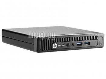 Неттоп HP 400 G1 Desktop Mini HPP-M3X27EA (Intel Core i5-4590T 2.0 GHz/4096Mb/500Gb/No DVD/Intel HD Graphics 4600/Wi-Fi/Linux)