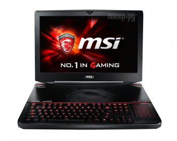 Ноутбук MSI GT80 2QC-290RU 9S7-181212-290 (Intel Core i7-5700HQ 2.7 GHz/16384Mb/1000Gb + 128Gb SSD/DVD-RW/2x nVidia GeForce GTX 965M 2048Mb/Wi-Fi/Blue