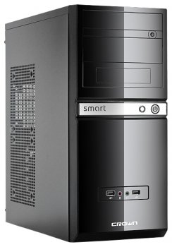 Системный блок (ATX/Intel Pentium G3260 3.3Ghz/RAM 4GB/HDD 500GB/DVD-RW/Win7 HB) (343846)