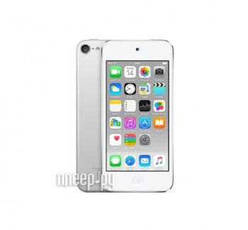 Плеер MP3 APPLE iPod Touch 6 - 64Gb Silver MKHJ2RU/A
