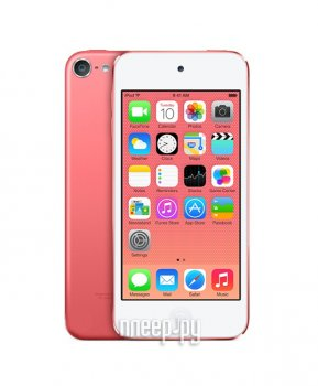 Плеер MP3 APPLE iPod Touch 6 - 16Gb Pink MKGX2RU/A