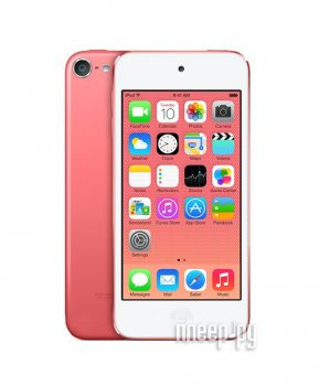 Плеер MP3 APPLE iPod Touch 6 - 64Gb Pink MKGW2RU/A