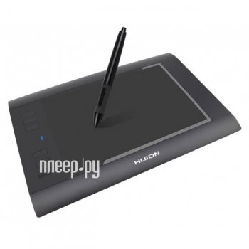 Графический планшет Huion H58L Black