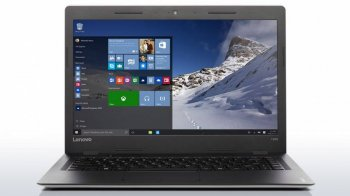 "Ноутбук Lenovo IdeaPad 100s-14IBR Pentium N3700/2Gb+32Gb/DVD-RW/Intel HD Graphics/14.0""/HD (1366x768)/Windows 10/grey/WiFi/BT/Cam/2200mAh"