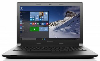 "Ноутбук Lenovo IdeaPad B5130 Pentium N3700/4Gb/500Gb/DVD-RW/nVidia GeForce 920M 2Gb/15.6""/HD (1366x768)/Windows 10/black/WiFi/BT/Cam/2200mAh"