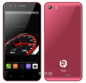 Смартфон BQ BQS-4555 Turbo Red