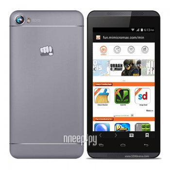 Смартфон Micromax A107 Canvas Fire 3 Gray