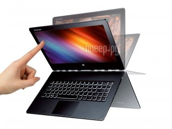 Ноутбук -трансформер Lenovo IdeaPad Yoga 3 Pro 80HE00R7RK (Intel Core M-5Y71 1.2 GHz/8192Mb/256Gb SSD/No ODD/Intel HD Graphics/Wi-Fi/Bluetooth/Cam/13.