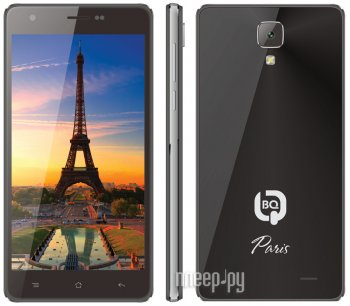 Смартфон BQ BQS-5004 Paris Black