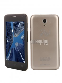 Смартфон Alcatel OneTouch 4024D PIXI First Metall Gold