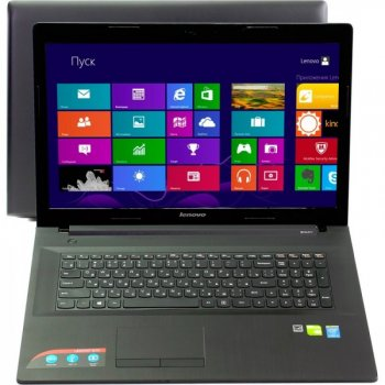 "Ноутбук Lenovo IdeaPad G70-80 <80FF002WRK> Pent 3805U/4/500Mb/DVD-RW/WiFi/BT/Win8/17.3""(1600x900)"