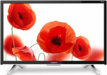 "Телевизор-LCD Telefunken 27.5"" TF-LED28S16T2 черный/HD READY/50Hz/DVB-T/DVB-T2/DVB-C/USB (RUS)"