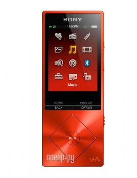 Плеер MP3 Sony Walkman NW-A25HN - 16Gb Red