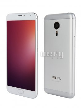 Смартфон Meizu MX5 16Gb Silver-White