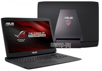 Ноутбук Asus G751JT 90NB06M1-M03530 (Intel Core i7-4850HQ 2.3 GHz/8192Mb/2000Gb/DVD-RW/nVidia GeForce GTX 970M 3072Mb/Wi-Fi/Bluetooth/Cam/17.3/1920x10