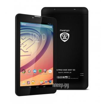 Планшетный компьютер Prestigio MultiPad Wize 3057 3G PMT3057_3G (MediaTek MT8312 1.3 GHz/512Mb/4Gb/3G/Wi-Fi/Bluetooth/Cam/7.0/1024x600/Android)