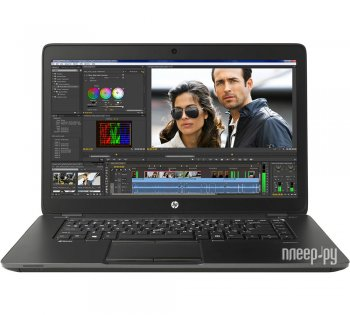 Ноутбук hp ZBook J9A08EA (Intel Core i7-5500U 2.4 GHz/8192Mb/256Gb SSD/No ODD/Intel HD Graphics 5500/Wi-Fi/Bluetooth/Cam/15.6/1920x1080/Windows 7)